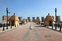 Porto Arabia. Doha, Qatar Royalty Free Stock Photo