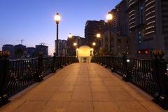 Porto Arabia at dusk, Doha Stock Photo