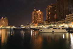 Porto Arabia Night View Royalty Free Stock Photo