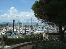 Porto Arenal Mallorca Spagna Fotografia Stock Libera da Diritti