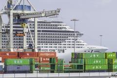 Porto a Arrecife Immagine Stock