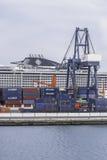 Porto a Arrecife Fotografie Stock