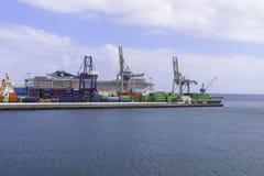 Porto a Arrecife Immagine Stock Libera da Diritti