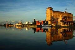 Porto autônomo de Strasbourg fotos de stock royalty free