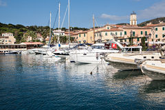Porto Azzuro Royalty Free Stock Photos