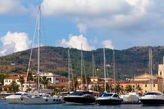 Porto Azzurro, Elba Island - General View Stock Photography