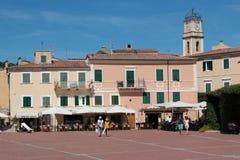 Porto Azzurro, Elba Island, Italia fotografía de archivo libre de regalías