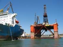 Porto - bacino di trasporto Fotografia Stock
