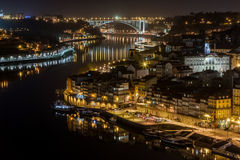 Porto bis zum Nacht Stockfoto