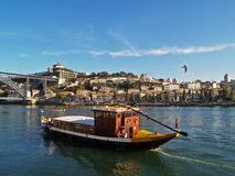 Porto boat Royalty Free Stock Photography