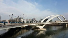 porto bridżowy tramwaj zdjęcie wideo