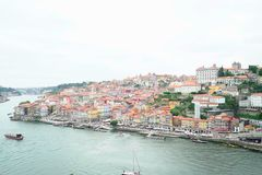 Porto from the bridge. This is the beautiful city of Porto seen from the bridge Stock Image