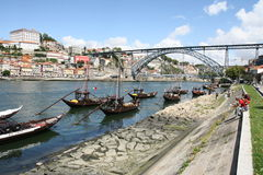 Porto bridge Stock Photography