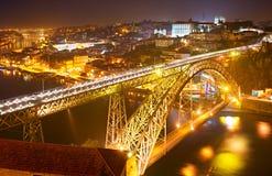 Porto bridge, Portugal Royalty Free Stock Photography