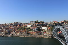 Porto from the bridge Stock Photo