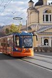 porto bridżowy tramwaj Obrazy Stock