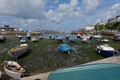 Porto Brixham Devon England Reino Unido do porto Imagem de Stock Royalty Free