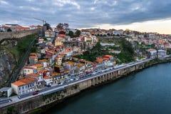 Porto brzeg rzeki Zdjęcia Stock