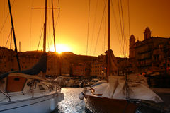 Porto Córsega de Bastia Fotografia de Stock Royalty Free