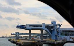 Porto Canaveral del lato nord Immagini Stock