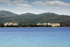 Porto carras greece Stock Images