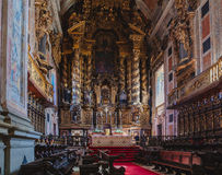 Porto Cathedral Chamber Stock Photography