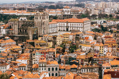 Porto Cathedral and city center Stock Photo