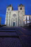 Porto Cathedral by Night in Portugal Stock Photo