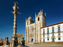 The Porto Cathedral Stock Images
