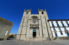 Porto Cathedral, Porto, Portugal Stock Photography
