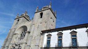 Porto cathedral, Porto, Portugal Royalty Free Stock Images