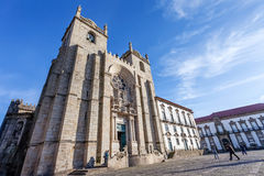 Porto Cathedral or Se Catedral do Porto Stock Image