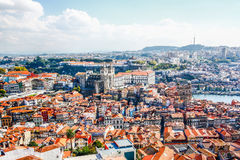 Porto Cathedral (Se do Porto). Porto old town  is registered as Royalty Free Stock Photography