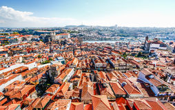 Porto Cathedral (Se do Porto). Porto old town  is registered as Royalty Free Stock Photo