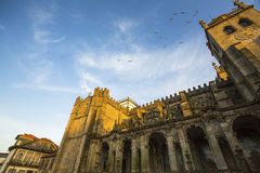 Porto Cathedral or Se do Porto, Portugal. Royalty Free Stock Images
