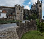 Porto Cathedral Se do Porto, Portugal.  Royalty Free Stock Photography