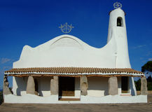 Porto Cervo. Old church in Porto Cervo Royalty Free Stock Images