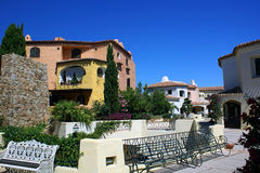 Porto Cervo. Resort in Sardinia on a sunny day Stock Images