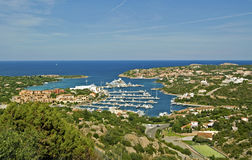 Porto Cervo. Is the capital of the Costa Smeralda, Sardinia Royalty Free Stock Photo