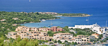 Porto Cervo. Is the capital of the Costa Smeralda, Sardinia Royalty Free Stock Image