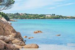 Porto Cervo beach Stock Photography