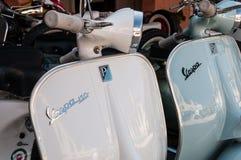 Piaggio Vespa  vintage Royalty Free Stock Image