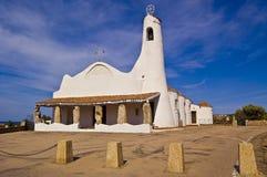 Porto Cervo Kerk Royalty-vrije Stock Foto