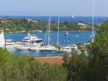 Porto Cervo in Sardinia - Italy stock photos