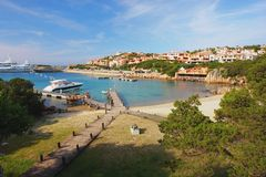 Porto Cervo, Sardinia Royalty Free Stock Photo