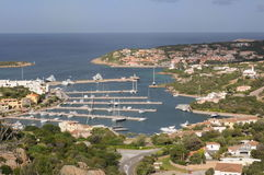 Porto Cervo. View in a Summer Season Stock Image