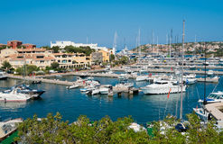 Porto Cervo. Village in Emerald coast, north of Sardinia, Italy Royalty Free Stock Image