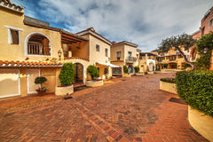 Porto Cervo village in Sardinia. Italy Stock Photography