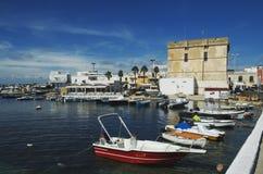 Porto Cesareo, Salento, Itália Foto de Stock Royalty Free