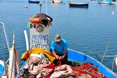 Porto Cesareo in Salento - Italië Stock Foto